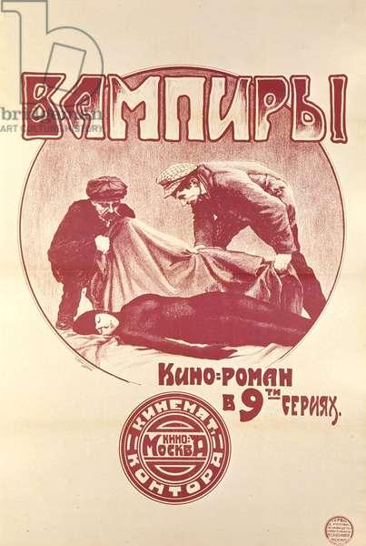 Poster for the film 'Vampires' (litho)