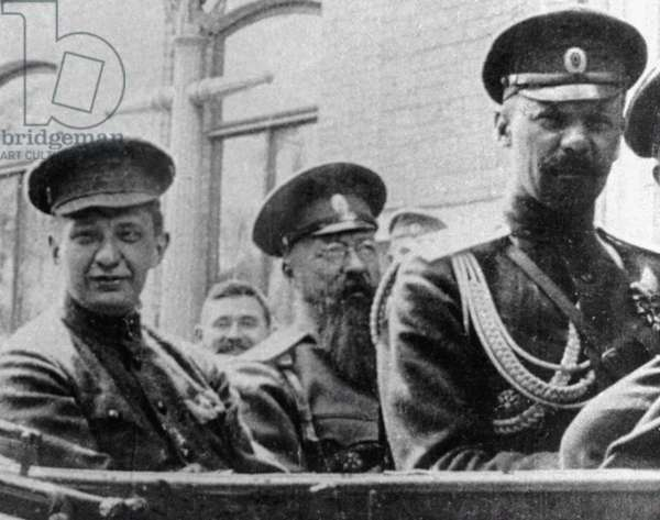 Alexander Kerensky, 1917 (b/w photo)