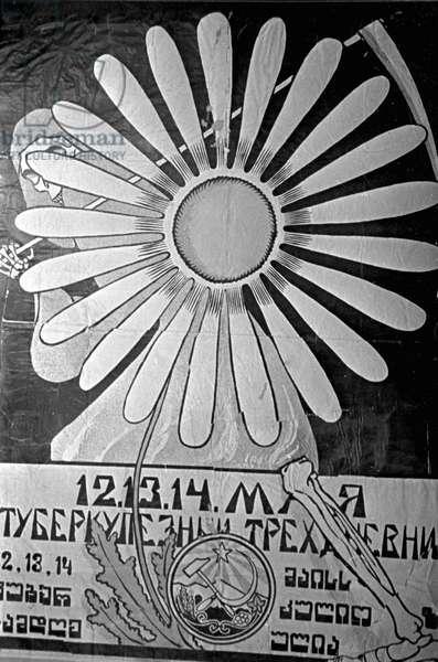 Dmitry Moor's Poster 'Down With Tb!'. Ria Novosti/Sputnik (litho)