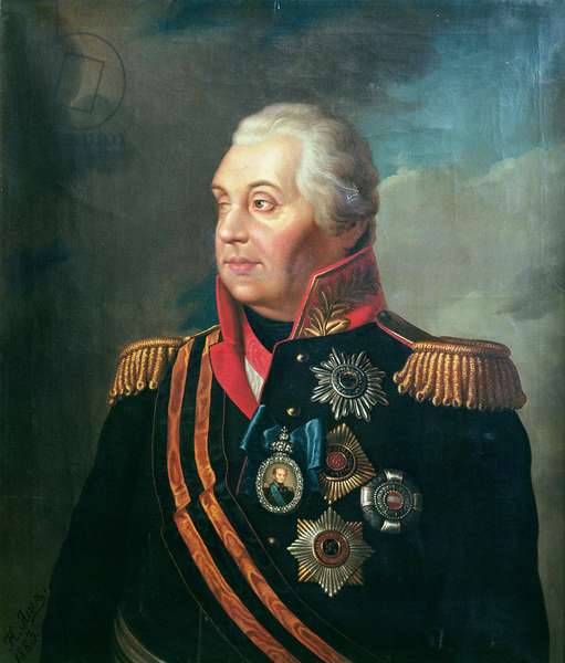 Mikhail Illarionovich Kutuzov, Prince of Smolensk, 1813 (oil on canvas)