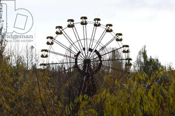 Observation wheel in Pripyat, 2016 (photo)