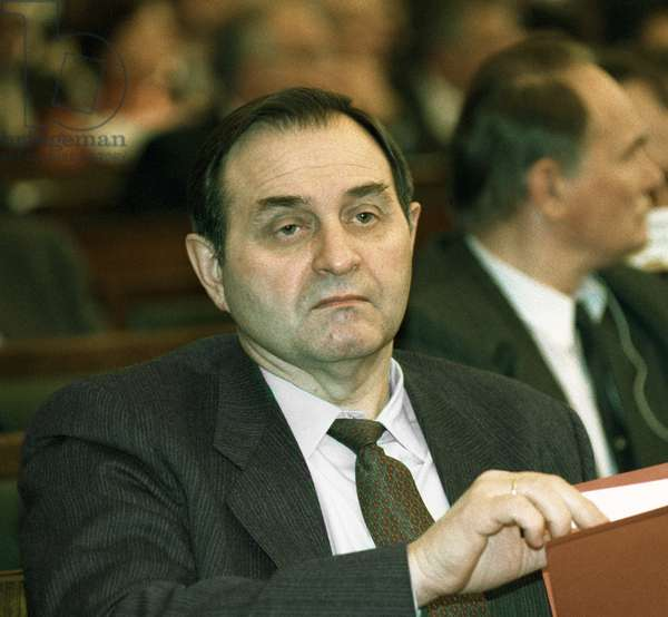 Viktor Barannikov, Russian Security Minister Dmitryi Donskoy / Sputnik, 1992 (photo)
