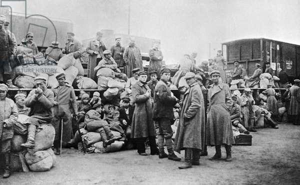Profiteers, 1918 (b/w photo)