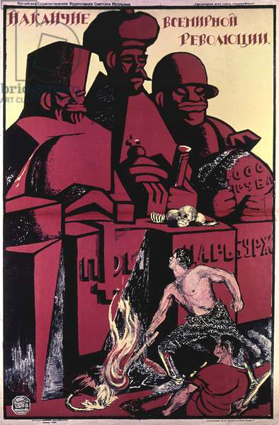 On the Eve of the World Revolution Poster (litho)