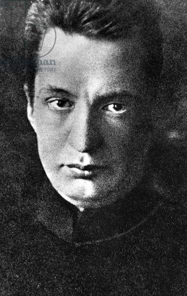 Alexander Kerensky, the head of Russia's bourgeois provisional government, 23rd September, 1917 (b/w photo)