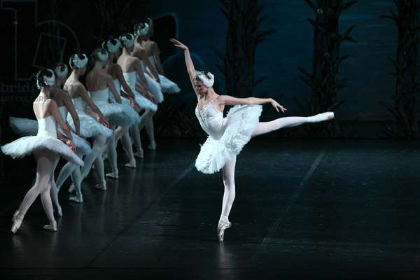 Soloists of the State Academic Leonid Yakobson Ballet performing Swan Lake, 2008 (photo)