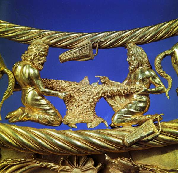 Detail of a pectoral (gold)
