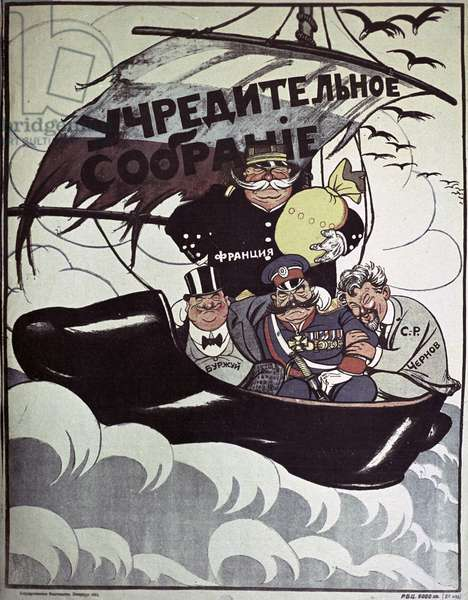 Constituent Assembly' Poster, 1921 (litho)