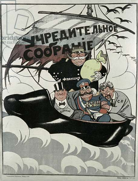 Poster 'The Constituent Assembly' (litho)