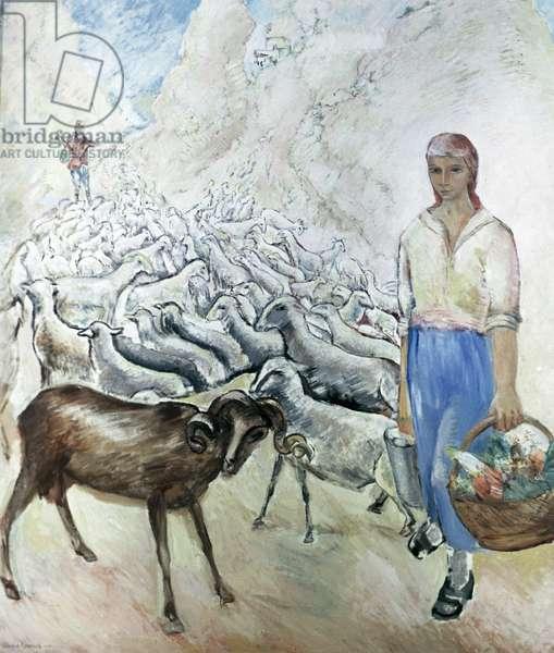 The Crimean Collective Farm, 1928 (oil on canvas)