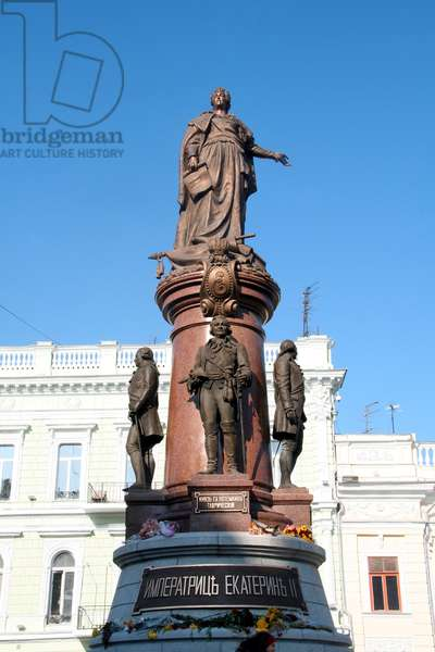 Monument to the Russian Empress, Odessa, Russia (photo)