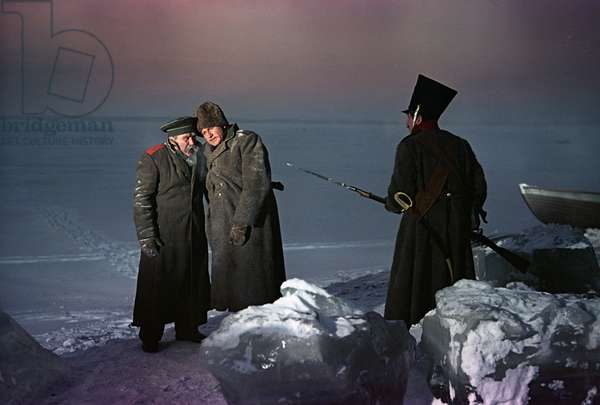 A still from the movie 'Severnaya Povest', Directed by by Yevgeni Andrikanis, Mosfilm Studios, 1961 (photo)