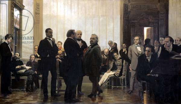 Slav Composers, 1871-72 (oil on canvas)
