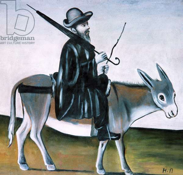 A Doctor on His Donkey