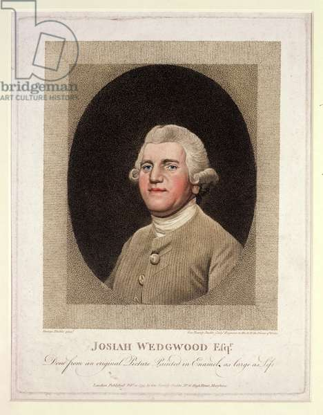 Josiah Wedgwood (1730-95), engraved and pub. by George Townley Stubbs (1756-1815), 1795 (stipple engraving)