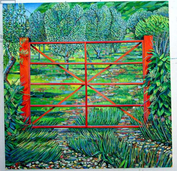 Red Gate, Summer, 2010 (oil on canvas)