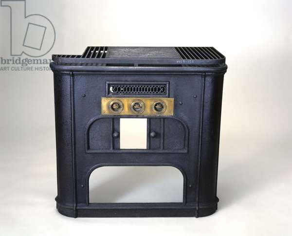 Gas cooker designed by Alfred King of Liverpool, 1859 (cast iron)
