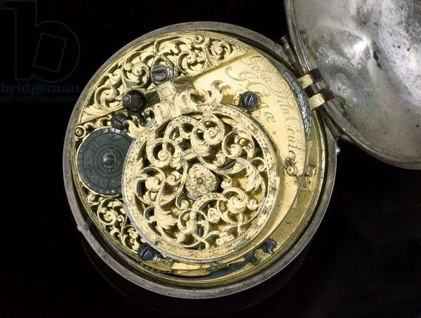 Verge watch. the Hague, c.1695 (metal) (see also 259582-83)