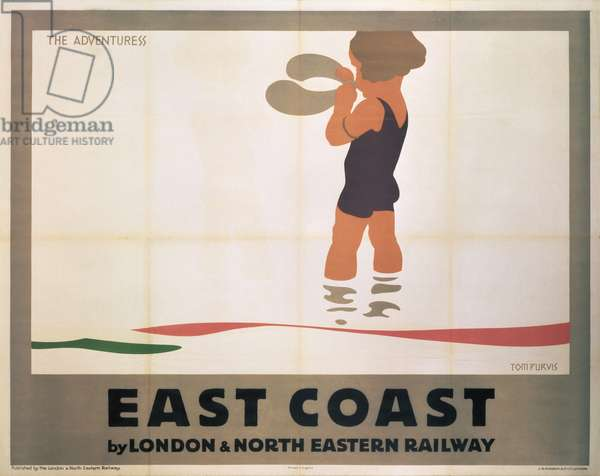 'The Adventuress', poster advertising the London and North Eastern Railway, c.1920-30 (colour litho)