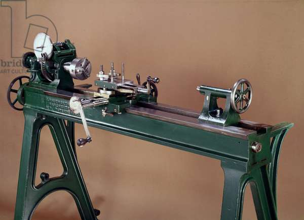 Whitworth lathe, made in Manchester, 1833-1950 (metal)