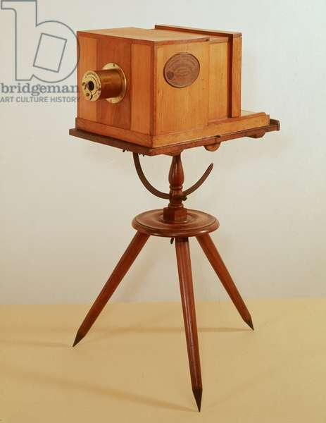 Daguerreotype camera by Alphonse Giroux of Paris (wood)