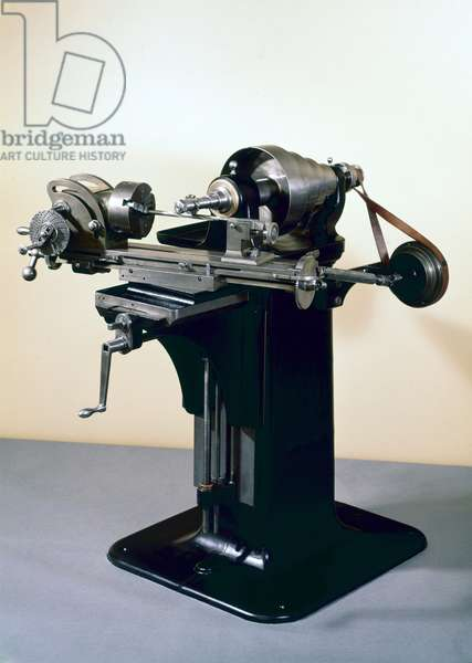 Brown and Sharpe's first universal milling machine (metal)