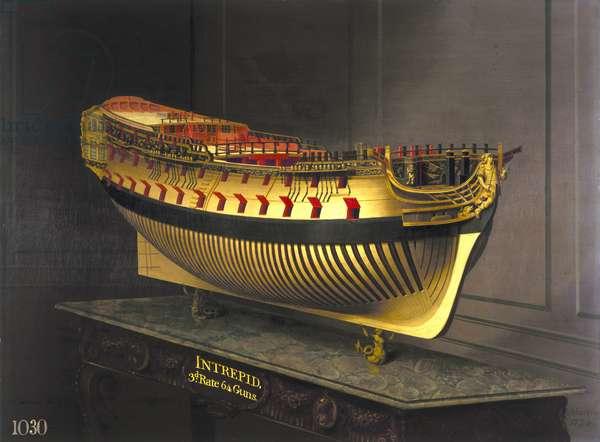 HMS Intrepid, 1773-75 (oil on canvas)