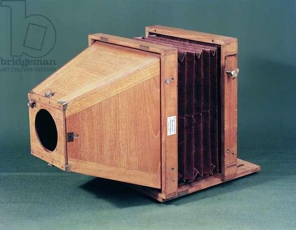 Wet plate camera, 1856