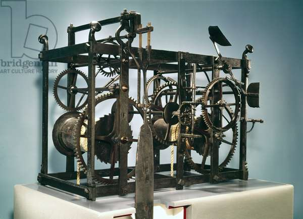Turret clock made by William Clement of London for King's College, Cambridge, 1671 (iron)
