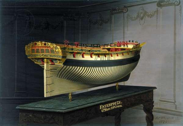 HMS Enterprise, 1775 (oil on canvas)
