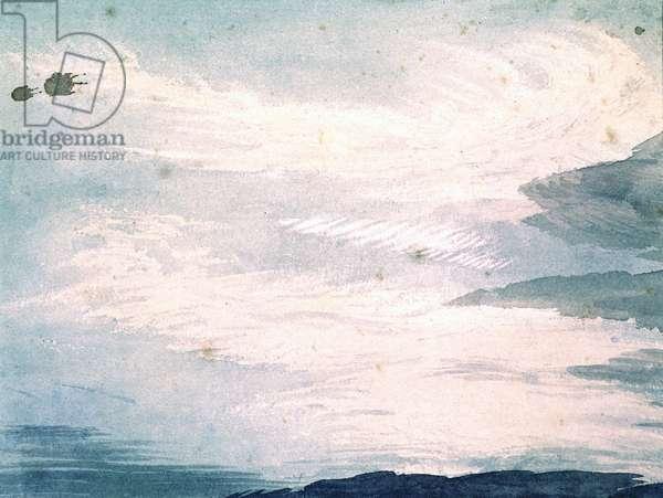 Cloud Study, c.1808-11 (w/c on paper)