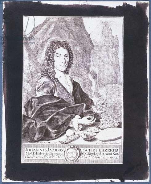 Johann Jakob Scheuchzer (engraving)