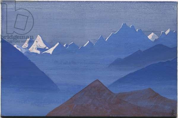 Sunset, 'Kuluta' series, 1931 (tempera on canvas laid on cardboard)
