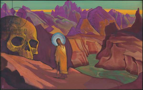 Issa and the Skull of the Giant, 1932 (tempera on canvas)