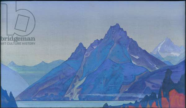 Lake of the Nagas, 1932 (tempera on canvas)