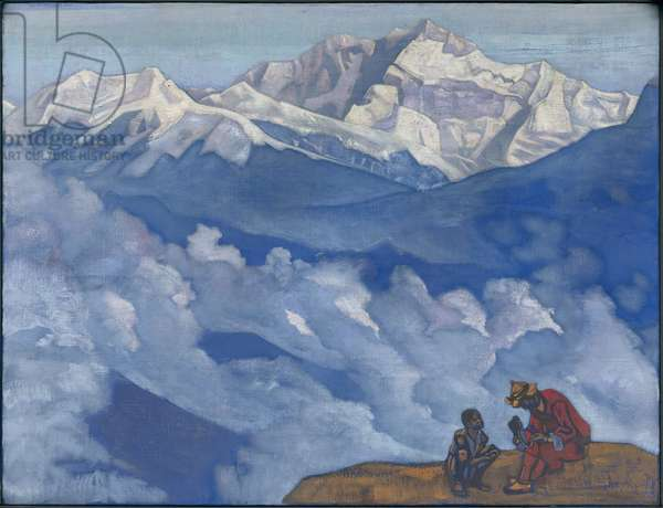 Pearl of Searching, 'His Country' series, 1924 (tempera on canvas)
