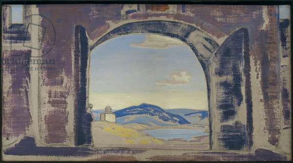 Study for a Painting, c.1922 (oil tempera on canvas)