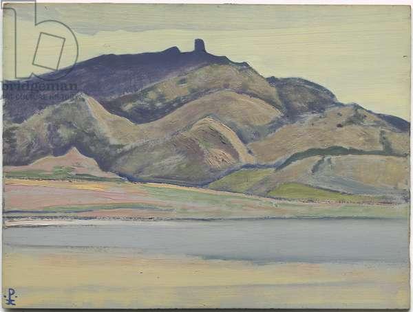 Rio Grande, 1921 (oil on cardboard)