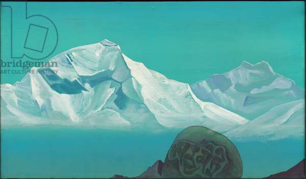 Path to Kailas, 'Holy Mountains' series, 1933 (tempera on canvas)