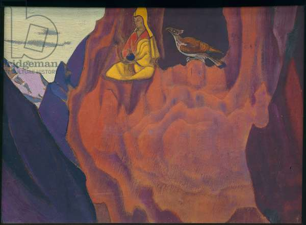 Tidings of the Eagle, 1927 (tempera and oil on panel)