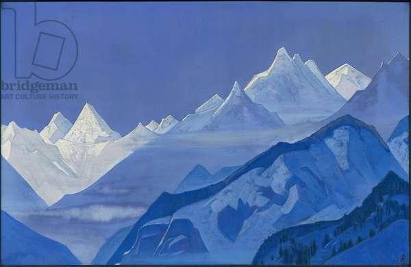 Guru-Guri Dhar, 1931 (tempera on canvas)
