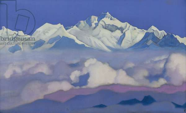 Kanchenjunga, 1936 (tempera on canvas)
