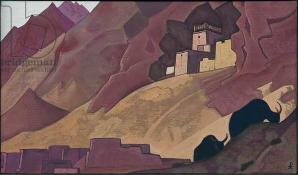 Koksar, 1932 (tempera on canvas)