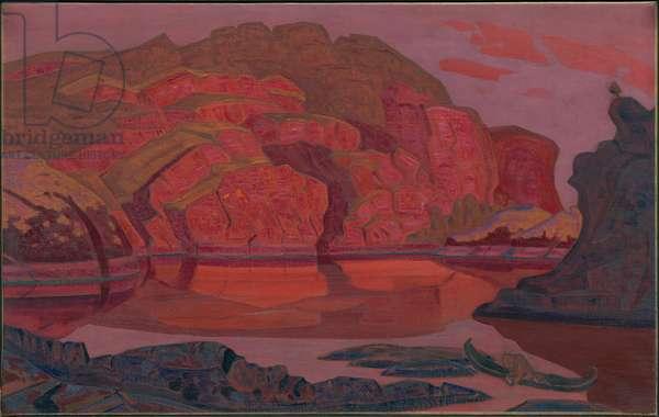 Hidden Treasure, 'Heroica' suite, 1917 (oil tempera on canvas)