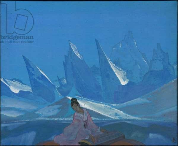 Kuan-yin, 1933 (tempera on canvas)