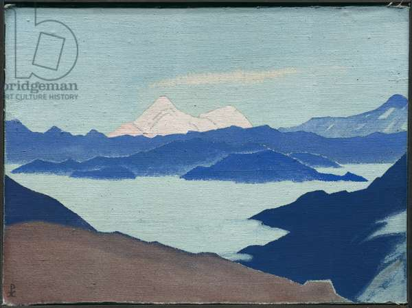 Sacred Himalayas, 1933 (tempera on canvas laid on panel)