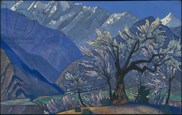 Krishna, 'Kulu' series, 1929 (tempera on canvas)
