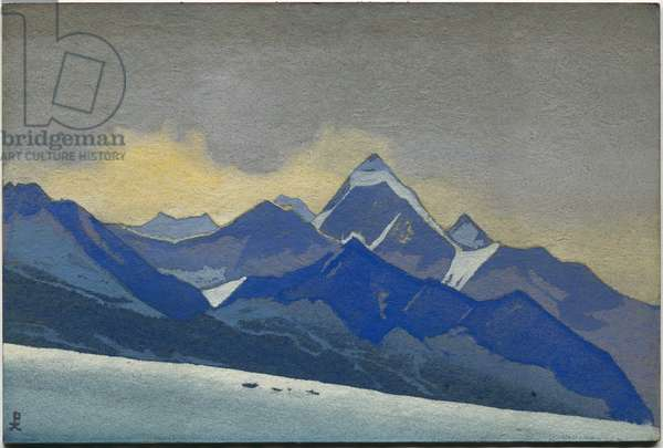 Lahul, 1936 (tempera on cardboard)
