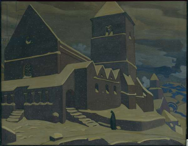 Repentance, 1917 (oil tempera on canvas)