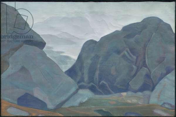 Monhegan, Maine, 'Ocean' series, 1922 (tempera on canvas)